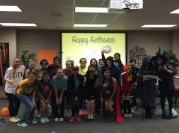 Halloween Social Texas A&M SWE